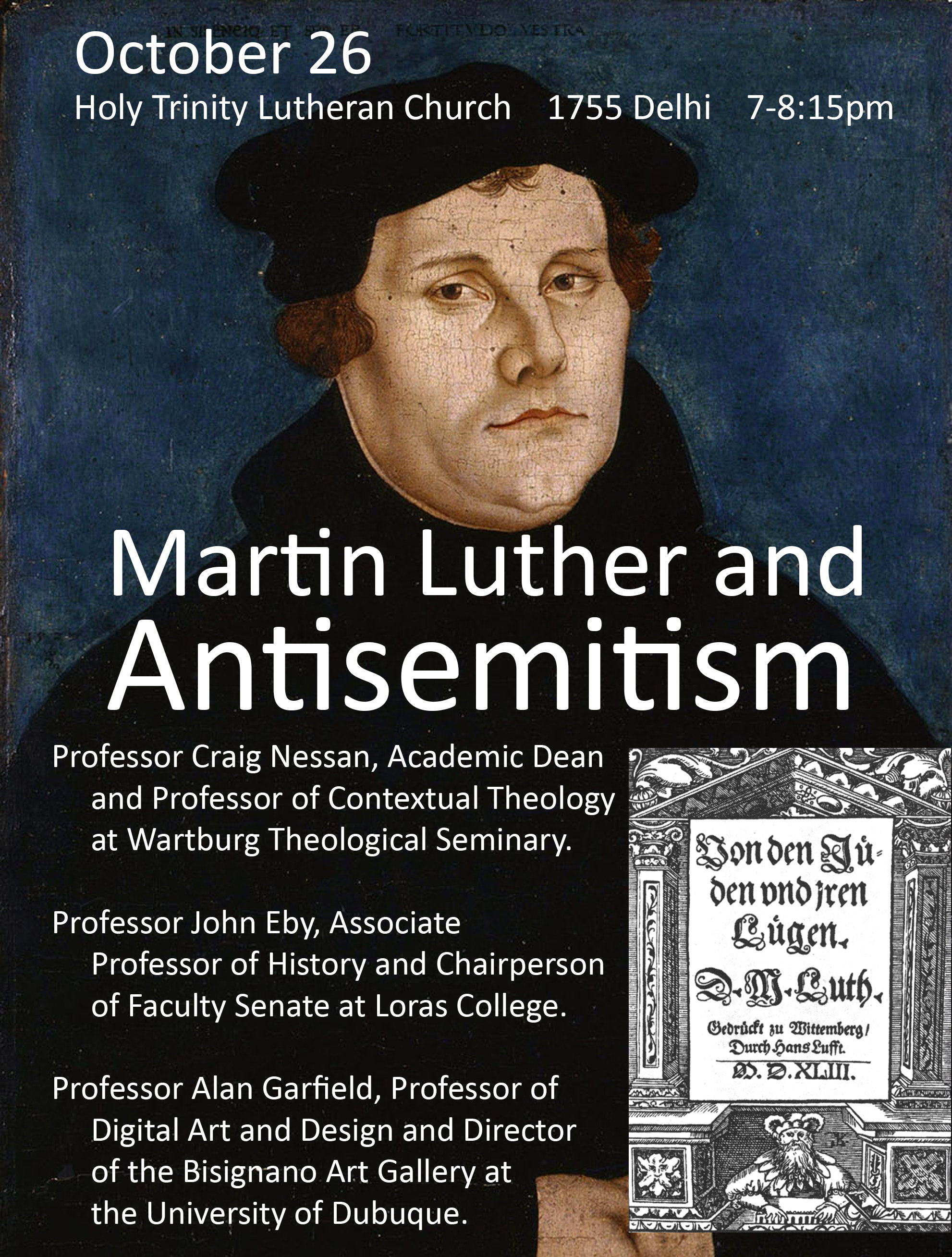 martin luther hates the jews In this excerpt from our 2017 national conference, stephen nichols and w robert godfrey discuss whether martin luther was guilty of anti-semitism stephen nichols: you know, this is a question you hear a lot, and i think we've got to look at the broad context of luther and then we need to say.